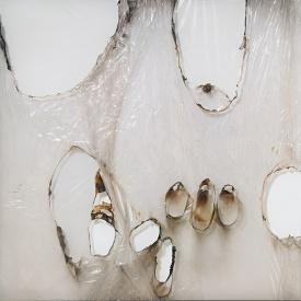 Alberto Burri, Grande Bianco Plastica, 1964 rd