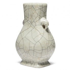 Hu Form vase, late 18th-19th century rd