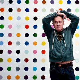 Damien Hirst, Dots, Gagosian Gall., London 2011 d