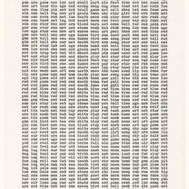 Carl Andre, Untitled, 1963, MoMA r