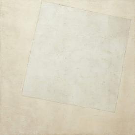 Kazimir Malevich, Suprematist composition, white on white, 1918