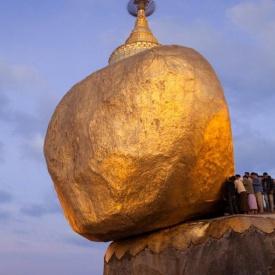 Kyaiktiyo Pagoda, Burma r