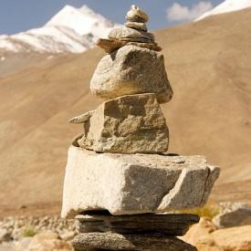Zen rock Stupa, Nepal