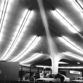 Pereira & Wong, Union 76 Gas Station, Beverly Hills, 1965 d